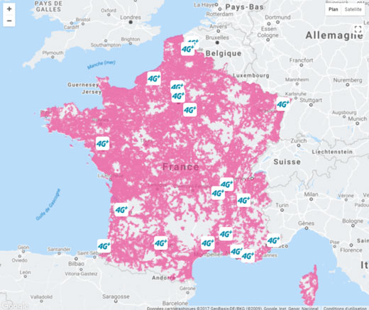 carte de couverture 4g B&YOU