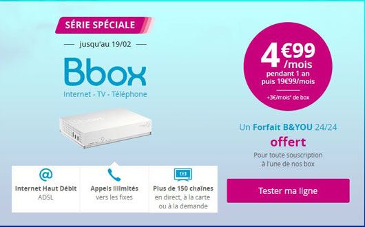 promotion bbox adsl bouygues
